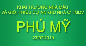 Giới thiệu dự án Khu nhà ở TMDV Phú Mỹ ngày 23/7/2019